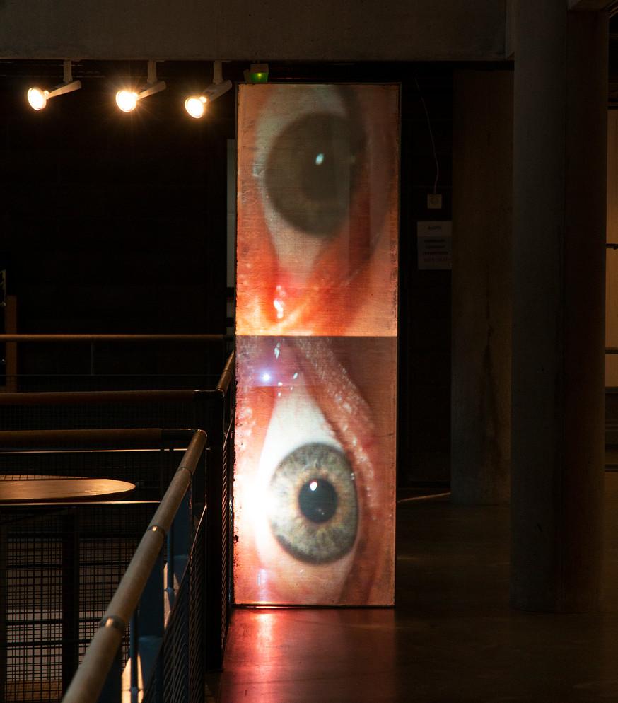 My eyes have seen you, installation, Aapo Korkeaoja