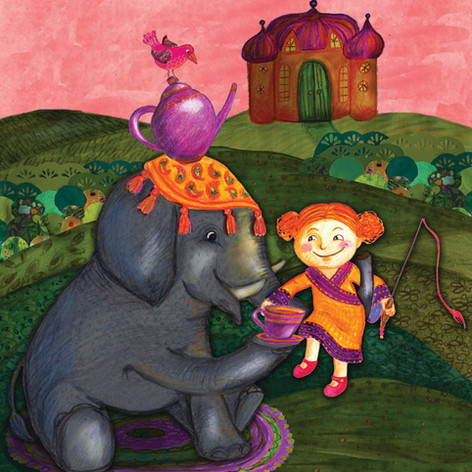 Kerttu and the Elephant