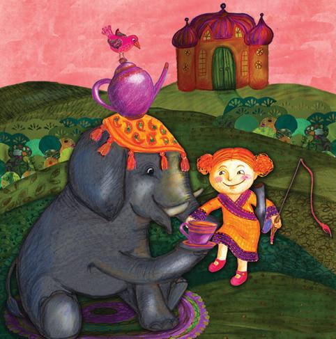 Kerttu and the Elephant