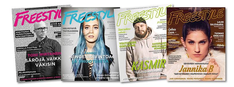 Freestylelehti Suunnittelustudio Pippuriina