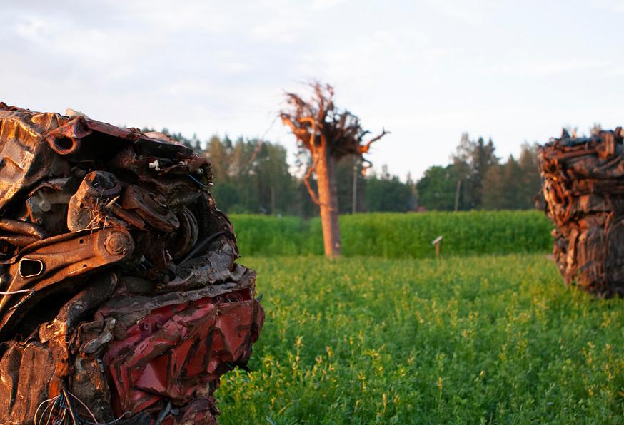 Käsitekesä-exhibition 2014
