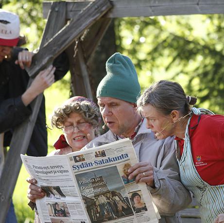 Kyllä Peltoska Hoitaa keräsi kesän 2014 aikana noin 1500 kävijää.