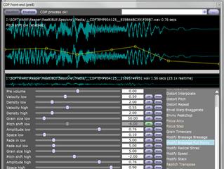 CDP Sound Transformation plugin