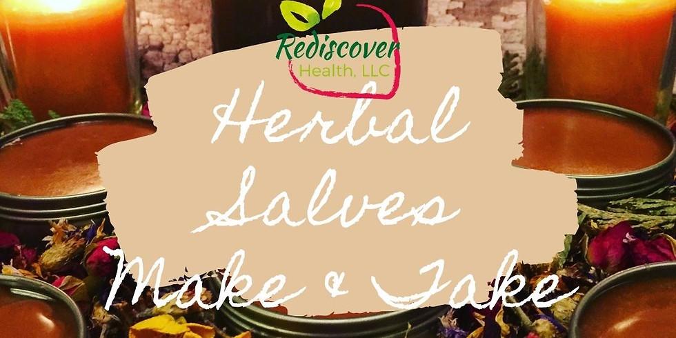 Herbal Salves Make & Take