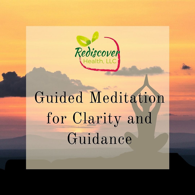 Guided Meditation for Clarity and Guidance