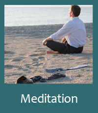 Meditation Button