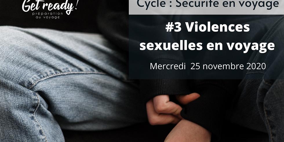 Webinaire / Violences sexuelles en Voyage