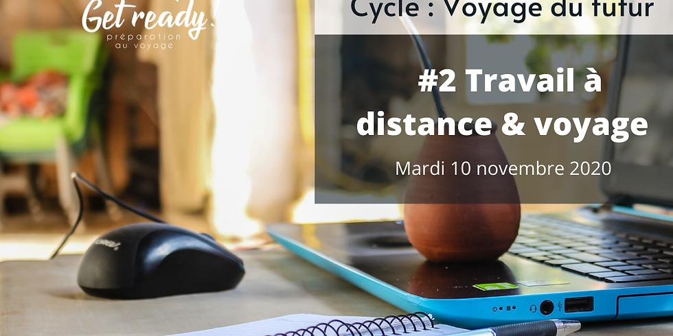 Webinaire / Voyage du futur : Travail à distance & voyage