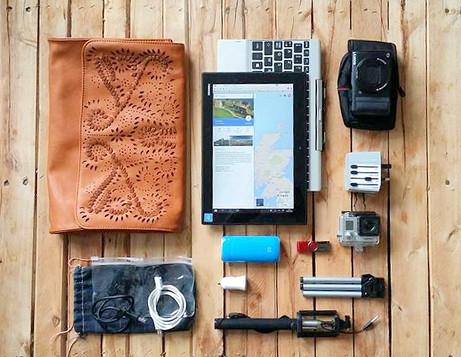 Summer Trips - Mon équipement électronique