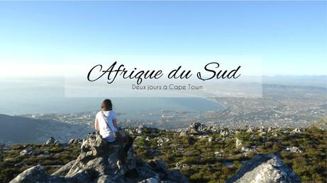 Afrique du Sud #2 - Deux jours à Cape Town: Table Mountain NP, Sea Point, Green Point et le Waterfro