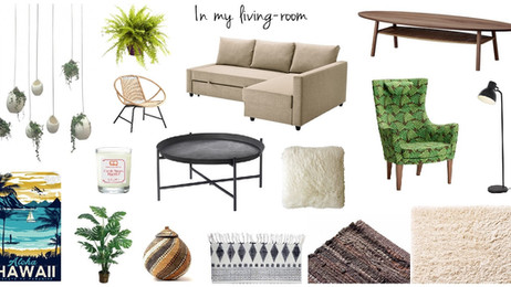 Inspiration déco Fall 2016 - In my living room