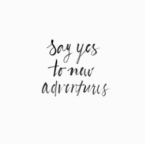 2016 - Say yes to new adventures !