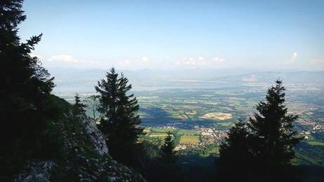 Mont-Blanc, lac Léman et Col de la Faucille : Randonnée surprise au Belvédère du Turet