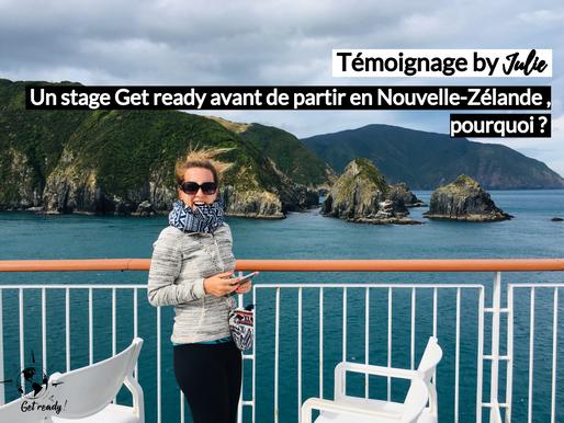Julie témoigne: un stage Get Ready avant la Nouvelle Zélande, pourquoi?