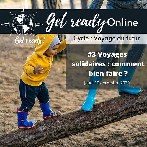 WEBINAIRE // Voyages solidaires, comment bien faire ?
