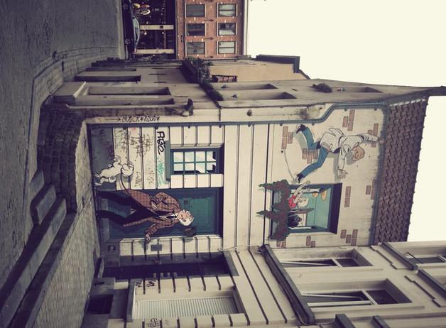 Escapade en Europe... Bruxelles, une fois!