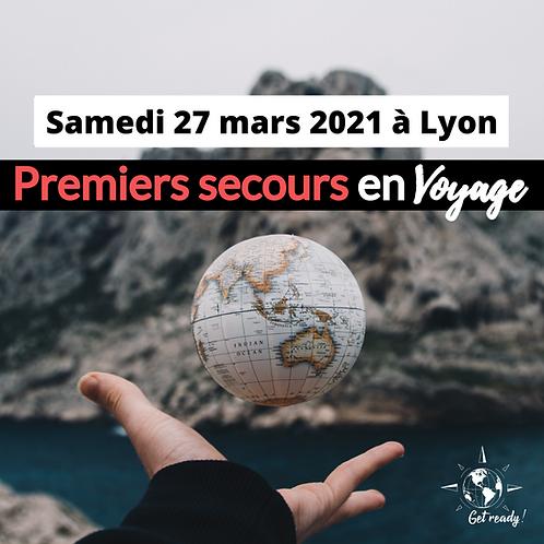FORMATION // Premiers secours en voyage - Lyon Mars 2021