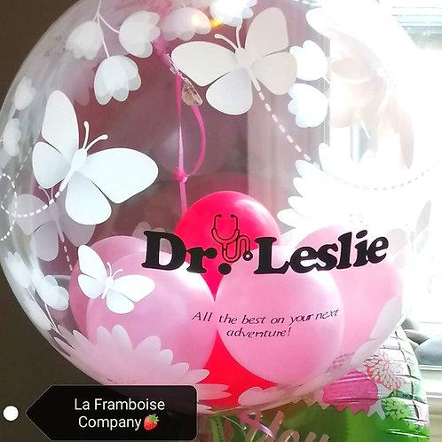 Custom spring balloon bouquet