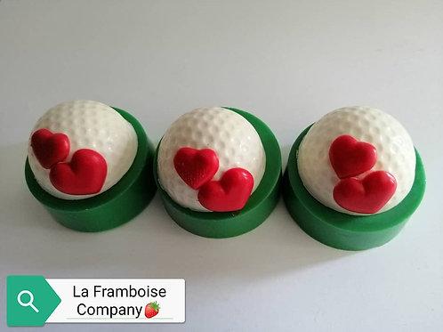 Golf ball chocolate oreos