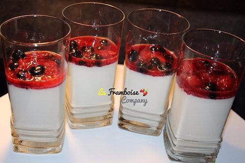 Berry delight gourmet dessert cups