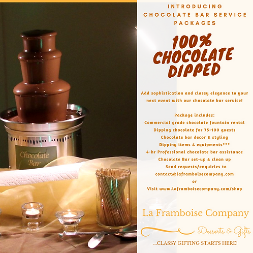 Chocolate Bar Service Packages