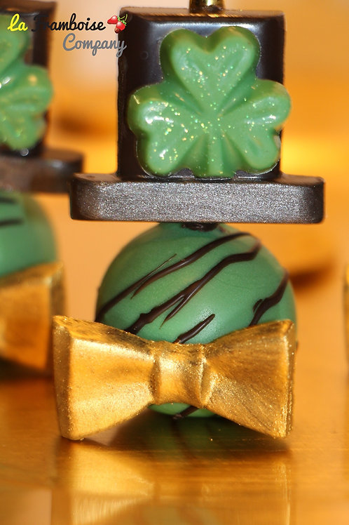 St. Patrick's Chocolate Pops