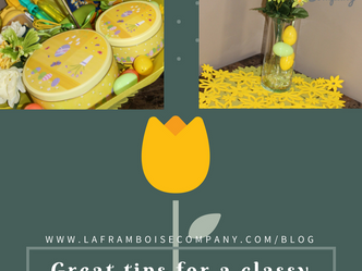 Tips for a classy Easter/Spring gift
