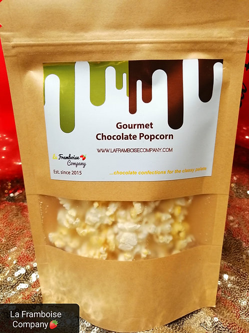 Gourmet Chocolate Popcorn - 12pcs Box
