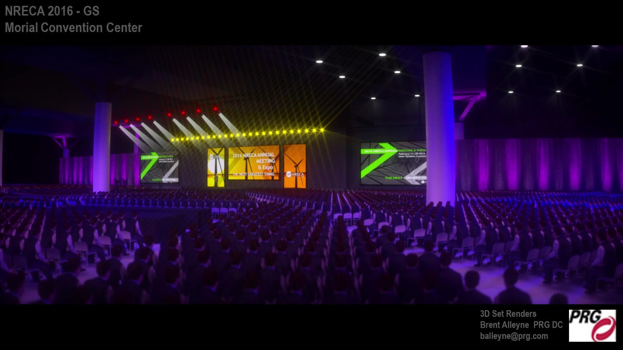 NRECA Set Cinematic