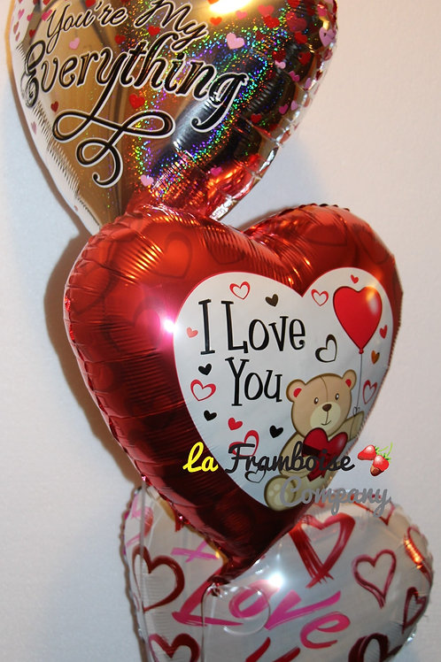Valentine Balloon Bouquet for her