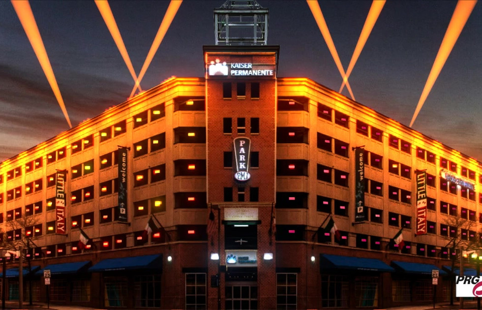 KP Oriols Light Display