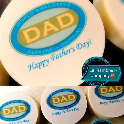 Father's Day chocolate cookies