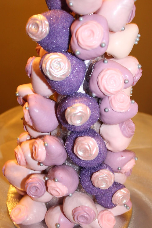 Sparkle Strawberry Tower