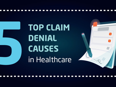 INFOGRAPHIC | 5 Top Claim Denial Causes in Healthcare