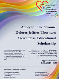 FLYER Apply for The Yvonne Delores Jeffr