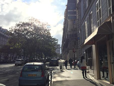 ウオーキング in パリ