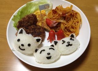 今日の晩ご飯~お子様ランチ~/PCのメンテナンス
