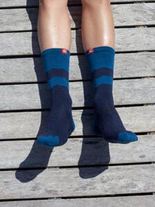 Socks; Mountains; Tech Steel / Navy