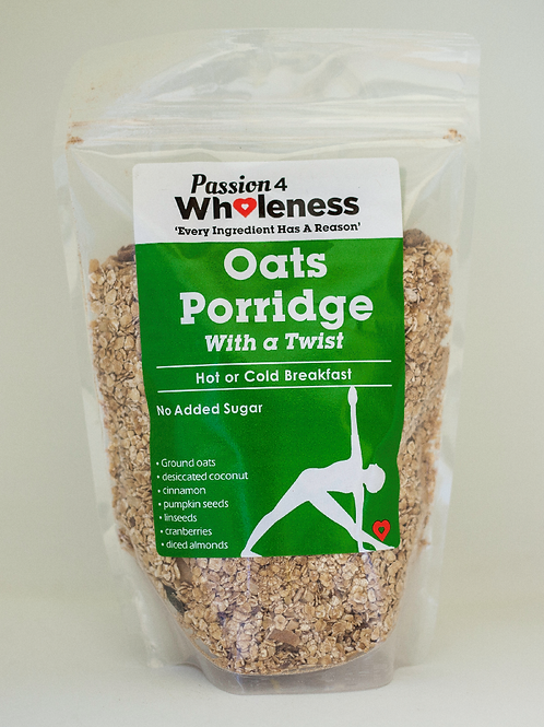 Passion4Wholeness Oats Porridge with a Twist