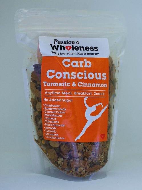 Passion4Wholenerss Carb Conscious Tumeric & Cinnamon