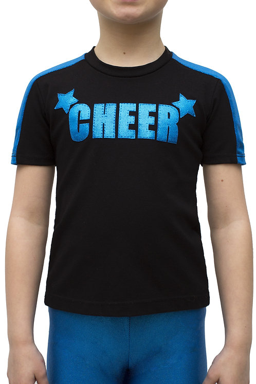 T-Shirt Bande Épaule CHEER