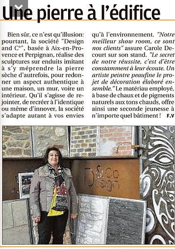 Article de presse La Provence