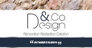 D&CO Design Rénovation Réalisation Création