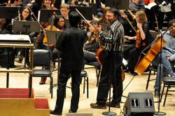 Maestro Hirai at rehearsal.
