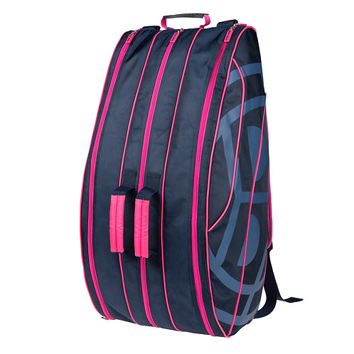 Saba Racketbag - darkblue/pink