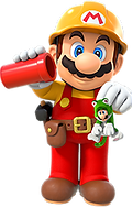 Mario with pipe.png