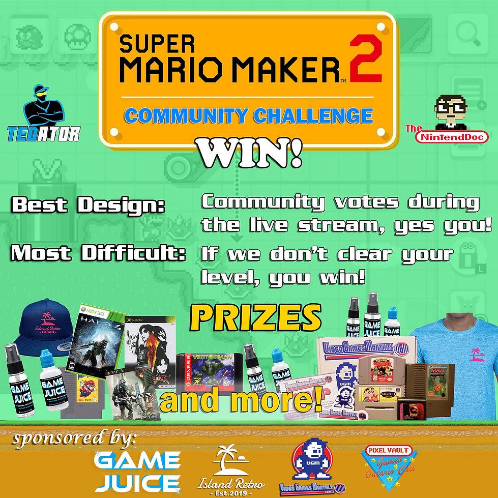2019.07.13 - Mario Maker Challenge WIN -