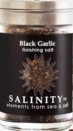 Black Garlic Finishing Salt