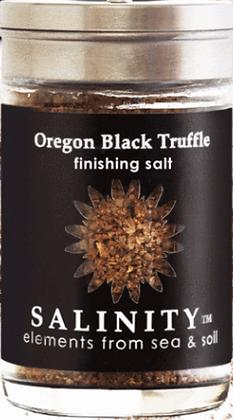 Oregon Black Truffle Finishing Salt