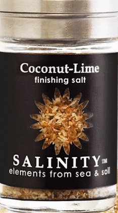 Coconut-Lime Finishing Salt
